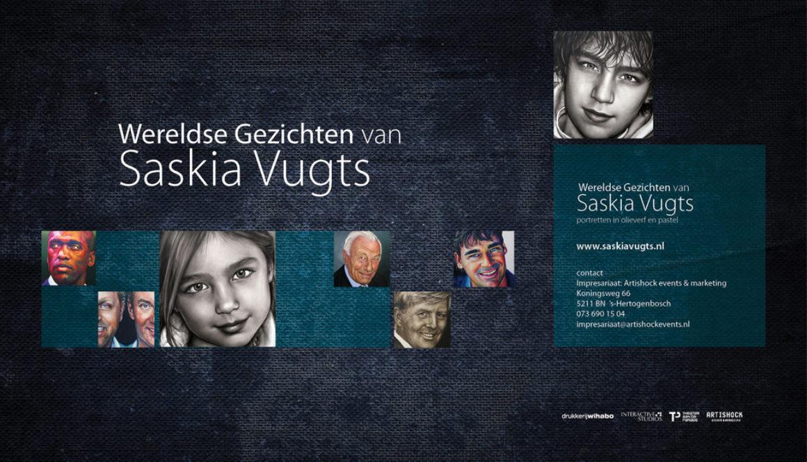Brochure Solo-Ecpositie Wereldse Gezichten Theater aan de Parade, 12 maart 2012