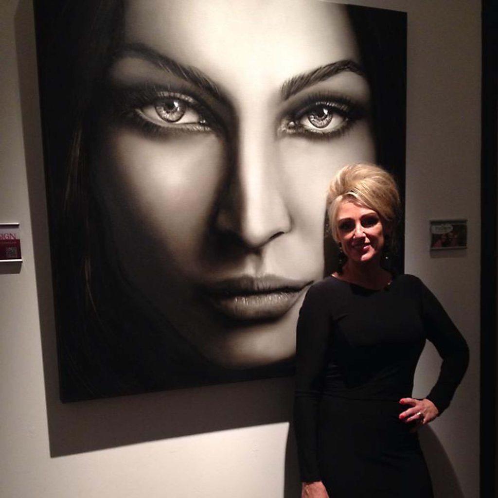 Portret van Megan Fox tijdens het Luxury Ladies Event in 's-Hertogenbosch