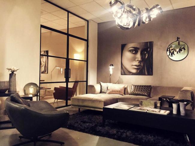 Saskia Vugts exposeert haar werk bij Vallen Living interieur & design