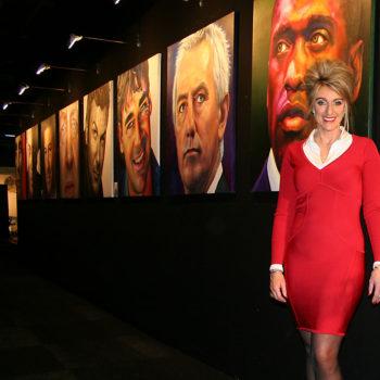 Saskia Vugts tijdens de Excellentbeurs in Amsterdam