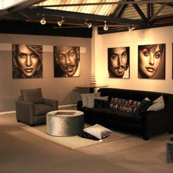 Portretten door Saskia Vugts tijdens ETC Expo in Culemborg