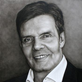 Olieverfportret van Jacques door Saskia Vugts