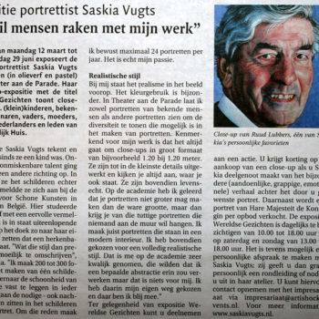 Bossche Omroep Expostitie Saskia Vugts Portretschilder (12-3-2012)