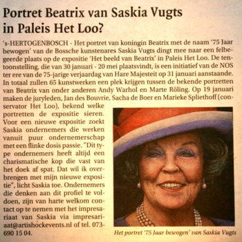 Bossche Omroep Portret Koningin Beatrix (13-1-2013)