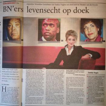 Brabants Dagblad Expositie Saskia Vugts Portretschilder (12-3-2012)