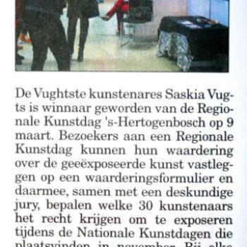 Klaverblad Regionlale Kunstdat (26-3-2014)