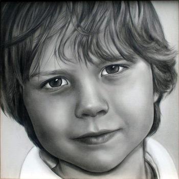 Olieverfportret door Saskia Vugts