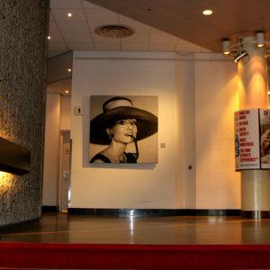Audrey Hepburn door Saskia Vugts
