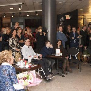 Mooie opkomst opening expositie Saskia Vugts
