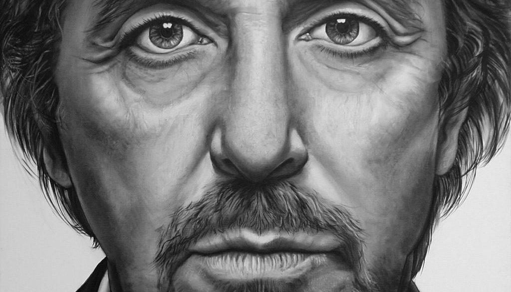 Portret van Al Pacino door Saskia Vugts