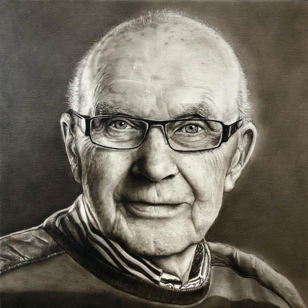 Portret in opdracht Dirk Verkade
