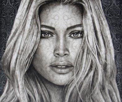 Nieuwsbrief 2020 Saskia-Vugts-Portretschilder_Doutzen-Kroes_