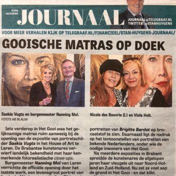 Saskia-Vugts-Portretschilder-solo-exhibition-House-of-art-laren-portraitpainting_portraitart_fineart_Stan-Huygens-Journaal_telegraaf_geschilderd-portret-in-opdracht