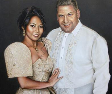 Portret ter gelegenheid van het eerste huwelijks jubileum van Stephan en Aiza van der Wallen 22.JPEG