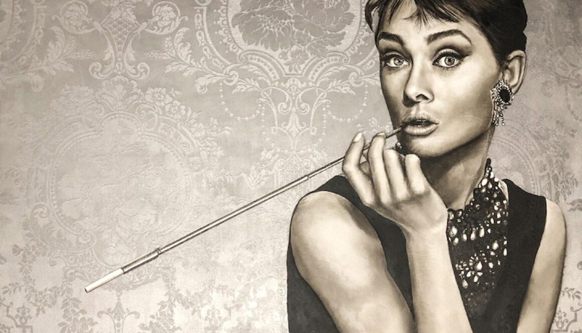 Audrey-Hepburn_portaitpainting_fine-art-portrait_oil-portrait-120x120cm 2